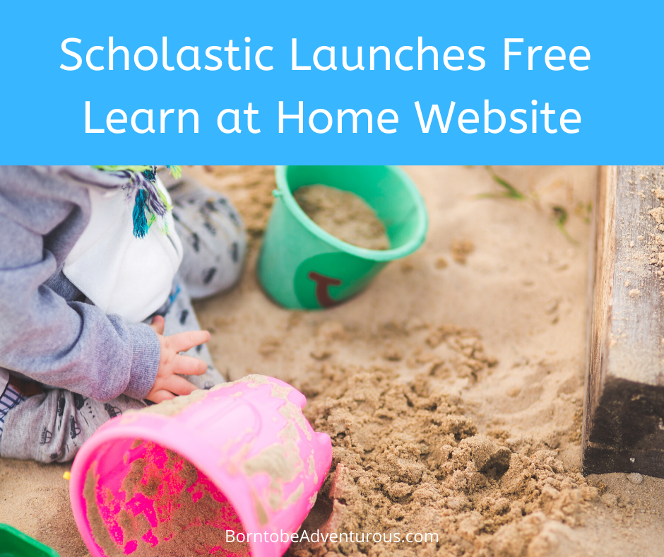 SCholastic free Learn at home website