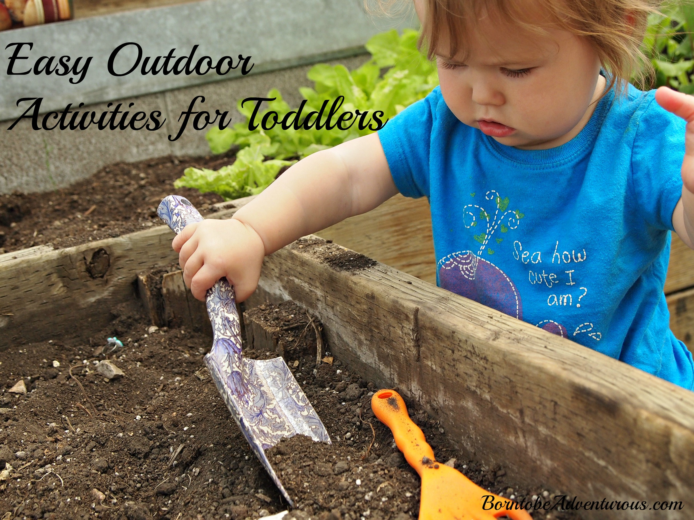 Easy Outdoor Activities for Toddlers