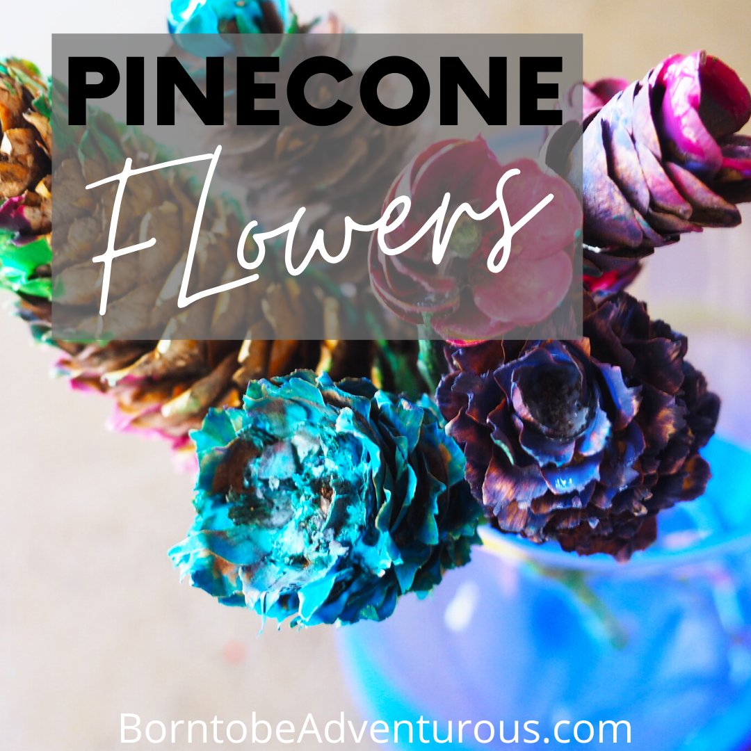Pinecone Craft Flower
